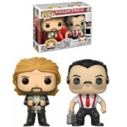 Pack 2 Figuras Pop! Vinyl Exclusivas IRS & Million Dollar Man - WWE