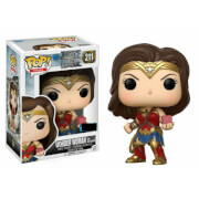 Justice League Wonder Woman with Mother Box EXC Pop! Vinyl Figur