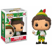 Figura Pop! Vinyl Exclusiva Buddy Duende (con bolas de nieve) - Elf