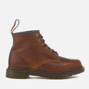 Dr. Martens Men's 101 Harvest Leather 6-Eye Lace Up Boots - Tan