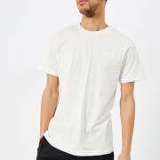Y-3 Men's Cl Short Sleeve Front Logo T-Shirt - Core White