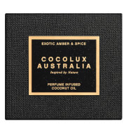 Cocolux Australia Exotic Amber and Spice Luna Brass Candle 225g