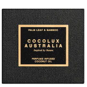 Cocolux Australia Palm Leaf and Bamboo Luna Brass Candle 225g