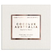 Cocolux Australia Sage Flower and Lemon Myrtle Sol Copper Candle 225g