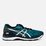 Asics Men's Running Gel-Nimbus 20 Trainers - Island Blue/White/Black
