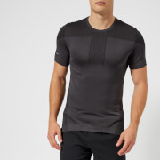 Asics Running Men's Cool Short Sleeve Seamless T-Shirt - Dark Grey