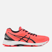 Asics Running Women's Gel-DS Trainer 23 Trainers - Flash Coral/Black/Coralicious
