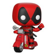 Marvel - Deadpool sullo Scooter Figura Pop!