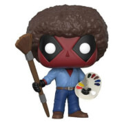 Marvel - Deadpool con Afro Figura Pop! Vinyl