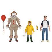 IT Pennywise, Georgie and Bill Action Figures 3-Pack