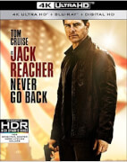 Jack Reacher: Never Go Back - 4K Ultra HD