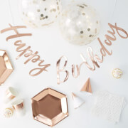 Ginger Ray Party in a Box - Rose Gold