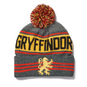 Harry Potter Griffindor Bobble Hat - Grey