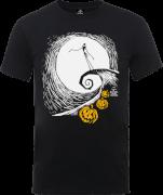 Disney The Nightmare Before Christmas Jack Skellington Pumpkin King Black T-Shirt