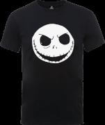 T-Shirt Homme Jack Skellington Roi des Citrouilles Couleur - L'Étrange Noël de Monsieur Jack - Noir