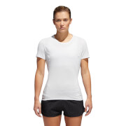 adidas Women's Fran Supernova Short Sleeve T-Shirt - White