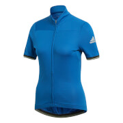 adidas Women's Climachill Jersey - Royal Blue