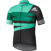 adidas Men's Adistar Jersey - Green