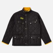 Barbour International Boys' Quilted Ariel Jacket - Black