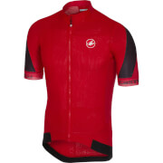 Castelli Volata 2 Jersey - Red/Black