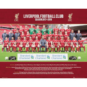 Liverpool Team Photo 17/18 Mini Poster 40 x 50cm