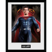 Justice League Superman Solo Framed Photograph 12 x 16 Inch