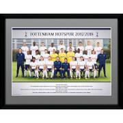 Tottenham Team Photo 17/18 Framed Photograph 12 x 16 Inch