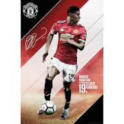Manchester United Rashford 17/18 Maxi Poster 61 x 91.5cm