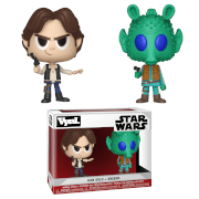 Han Solo and Greedo Vynl.