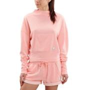 Skins Activewear Women's Wireless Sport Crew Neck Fleece - Peach Marle