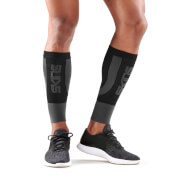 Skins Essentials Active Seamless Calf Tights - Black/Pewter