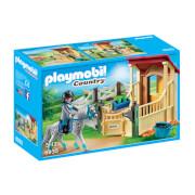 Playmobil : Box avec cavalière et cheval Appaloosa (6935)