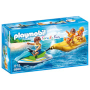 Playmobil Family Fun Floating Personal Watercraft with Banana Boat (6980)