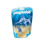 Playmobil schwertfisch mit baby (9068)