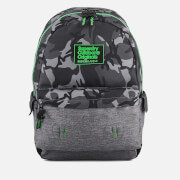 Superdry Men's Camo Inter Montana Backpack - Black Camo/Grey