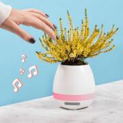 Plant Pot Speaker - White