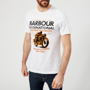 Barbour International Men's Dyno T-Shirt - White