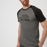 The North Face Men's Raglan Easy Short Sleeve T-Shirt - TNF Medium Grey Heather