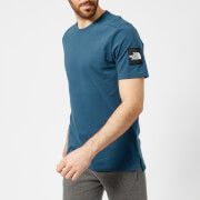 The North Face Men's Short Sleeve Fine 2 T-Shirt - Blue Wing Teal