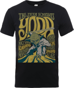 Star Wars Yoda The Jedi Knights T-Shirt - Schwarz