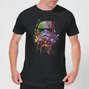 Star Wars Paint Splat Stormtrooper T-Shirt - Schwarz
