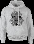 Star Wars Hyperspeed Stormtrooper Hoodie - Grau