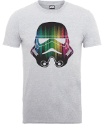 T-Shirt Homme Vertical Lights Stormtrooper - Star Wars - Gris