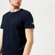 Champion Men's Short Sleeve Logo T-Shirt - Navy