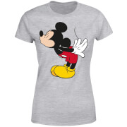 Disney Mickey Mouse Mickey Split Kiss Women's T-Shirt - Grey