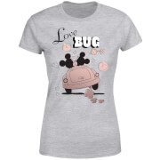 Disney Mickey Mouse Love Bug Dames T-shirt - Grijs