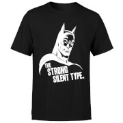 The Strong Silent Type T-Shirt - Black