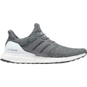 adidas Men's Ultra Boost Running Shoes - Grey/Green