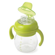 OXO Tot Transitions - Soft Spout Sippy Cup with Handles 175ml - Green