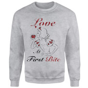 Disney Prinzessin Schneewittchen Love At First Bite Pullover - Grau